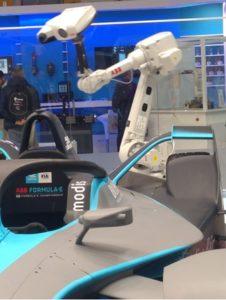 Robot per ispezione visiva