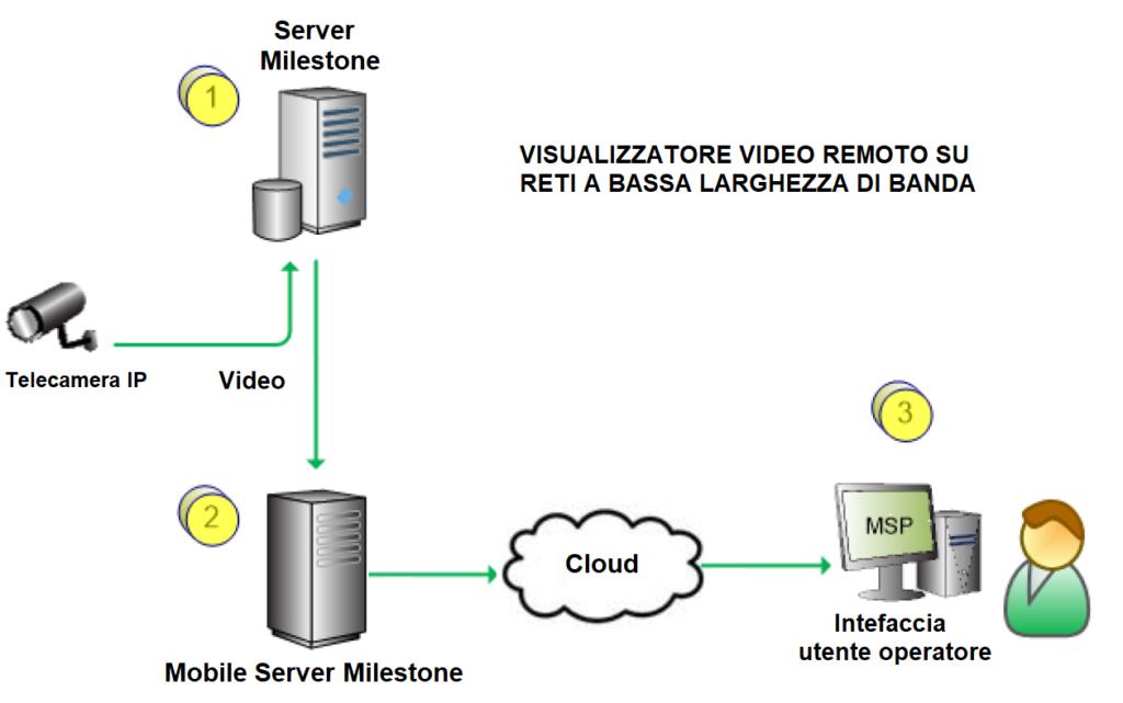 Casi: visualizzatore video remoto