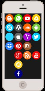 Smartphone con App