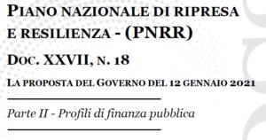 PNRR profilo finanziario